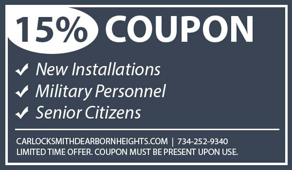 Car Locksmith Dearborn Heights Coupon Taylor Michigan